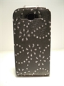 Picture of Samsung i9300 Galaxy S3 Black Diamond Leather Flip Case