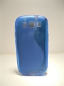 Picture of Samsung i9300 Galaxy S3 Blue Silicone Gel Wave Case