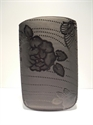 Picture of Black Floral Pouch Large