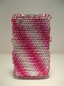 Picture of Blackberry 8520/9300 Pink Striped Diamond Case