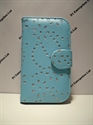 Picture of Samsung Galaxy S3 Mini Aqua Diamond Leather Wallet