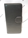 Picture of LG G2  Black Leather Wallet Case
