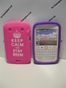 Picture of Blackberry Bold 9900 Pink Silicone Cover