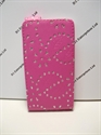 Picture of Samsung Galaxy S2, i9100 Pink Diamond Leather Case