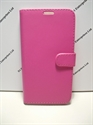 Picture of Galaxy Note 4 Pink Leather Wallet Case