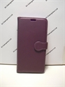 Picture of Galaxy S6 Edge Plus Violet Leather Wallet Case