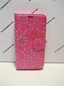 Picture of Galaxy S7 Pink Floral Leather Diamond Wallet