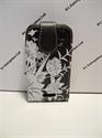 Picture of Blackberry Curve 9360 Black Floral Leather Flip Case