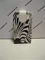Picture of Blackberry Curve 9360 Zebra Face Leather Flip Case