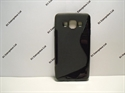 Picture of Galaxy A3 Black S Wave Gel Case