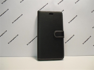 Picture of Samsung Galaxy J5 Prime Black Leather Wallet Case