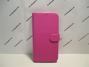 Picture of Huawei P Smart 2019 Pink Leather Wallet Case
