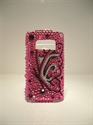 Picture of Nokia C6-01 Pink & Butterfly Design