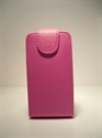Picture of Samsung S5570 Galaxy Mini-Pink Leather Case