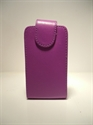 Picture of Nokia 6700 Slide Purple Leather Case