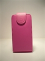 Picture of Sony Ericsson W395 Pink Leather Case