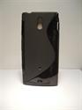 Picture of Xperia P, Lt22i Black Silicone Gel Case