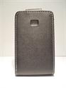 Picture of LG Optimus L3, E400 Black Leather Case