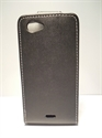 Picture of Xperia J, ST26i Black Leather Case