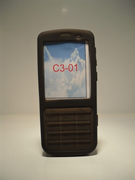 new concept f02e2 3ae49 Nokia C3-01 Black Silicone Gel Case| Huawei cases and covers ...
