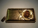 Picture of Large Flower Purse, Gold