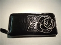 Picture of Large Flower Purse, Black
