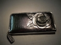 Picture of Large Flower Purse, Silver