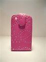 Picture of Blackberry 8520 Curve Pink Diamond Leather Case