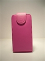 Picture of Blackberry 9100/9105 Pink Leather Flip Case