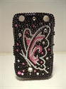 Picture of Blackberry Curve 9320 Black Butterfly Speckled Case