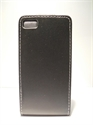 Picture of Blackberry Z10 Black  Leather Flip Case