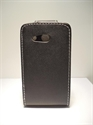 Picture of Desire C Black Leather Flip Case