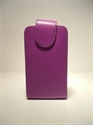 Picture of LG Optimus L7 Purple Leather Case
