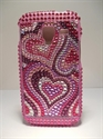Picture of Galaxy Ace 2, i8160, Coloured Hearts Diamond Case