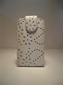 Picture of Nokia 300 Asha White Diamond Leather Case