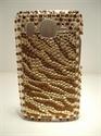 Picture of HTC Desire HD Bronze Wave Diamond Case