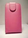 Picture of HTC Desire V Pink Leather Case