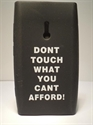Picture of Nokia 800 Black 'Don't Touch' Silicone Cover