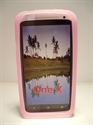Picture of HTC One X Baby Pink Silicon Case