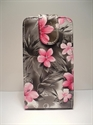 Picture of HTC One X Floral Leather Case