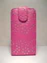 Picture of HTC One X Pink Diamond Leather Case