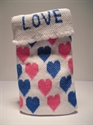 Picture of Pink & Blue Hearts Phone Sock