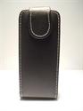 Picture of Nokia 6303 Classic Black Leather Flip Case