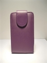 Picture of Galaxy Beam Purple Leather case