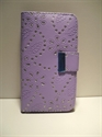 Picture of Xperia T Lilac Diamond Leather Wallet