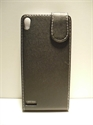Picture of Huawei P6 Black Leather Case