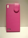 Picture of Huawei P6 Pink Leather Case