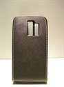 Picture of Nokia Asha 205 Black Leather Case