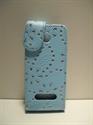 Picture of Nokia 301 Aqua Diamond Leather Case