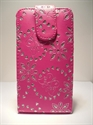 Picture of Huawei Y300 Pink Diamond Leather Case
